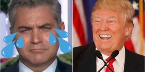 Jim Acosta Triggered After CNN Won Four Fake News Awards