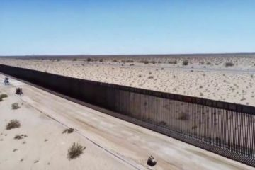 Feds Release Drone Footage of a new 60 Mile Section of 18-Foot High Border Wall