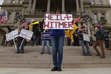 michigan may 1, lansing michigan protests, michigan state capitol protests