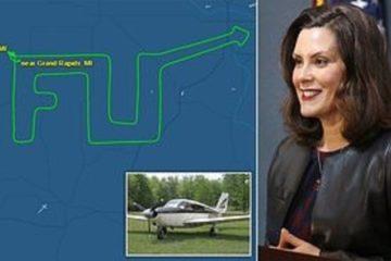 michigan pilot f u to governor whitmer