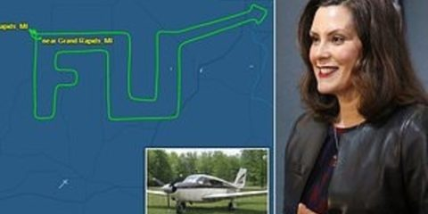 michigan pilot f u to governor whitmer
