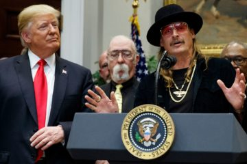 rock star trump